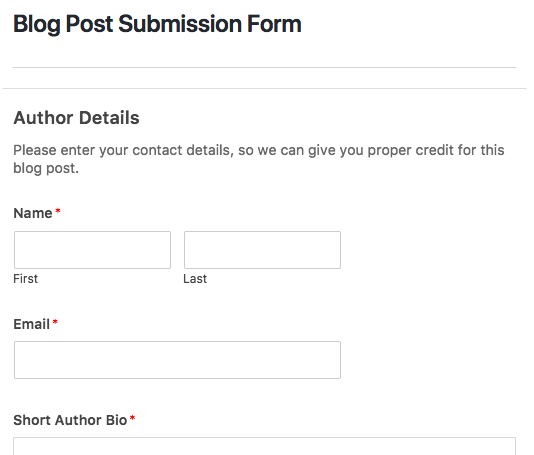 How to Install and Use the Post Submissions Addon in WPForms