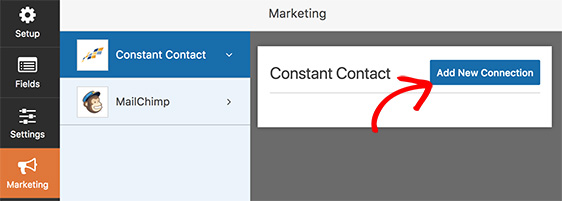 Add New Connection button