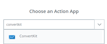 choose convertkit app