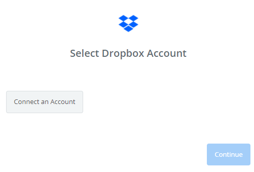 connect dropbox with zapier to add dropbox to website