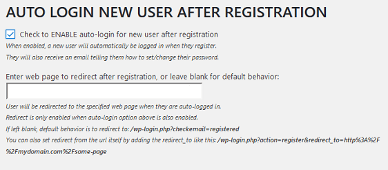 enable auto-login