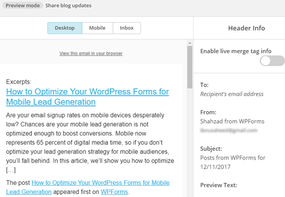 how to add newsletter signup to wordpress