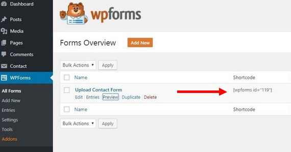 wordpress upload to google drive forms overview
