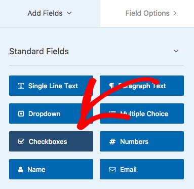 Add a checkbox to your form