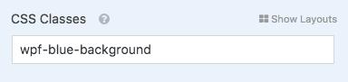 Add custom CSS class to WPForms field