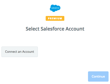 Connect a new Salesforce account in Zapier