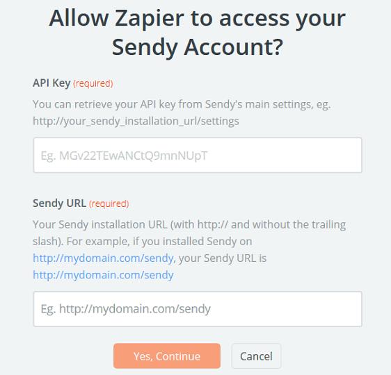 Custom Sendy Subscribe Form - Connect Sendy to Zapier