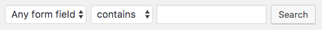 Search WPForms form entries