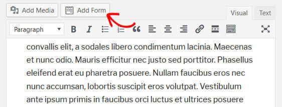 WPForms Order Form Email Receipt - Add Form