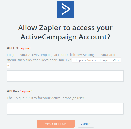 activecampaign form integration