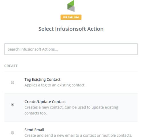 create wordpress infusionsoft form