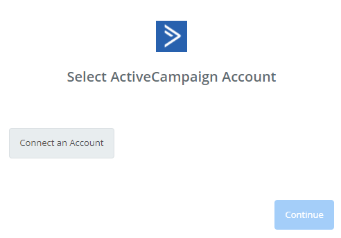 select activecamapign account