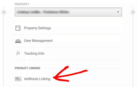 Ad Conversion Tracking - GA Ad Linking