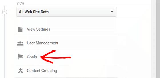 Ad Conversion Tracking - GA Goals