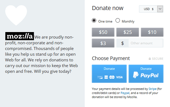 Online Fundraising Ideas for NonProfit Organizations - Donation Form Example