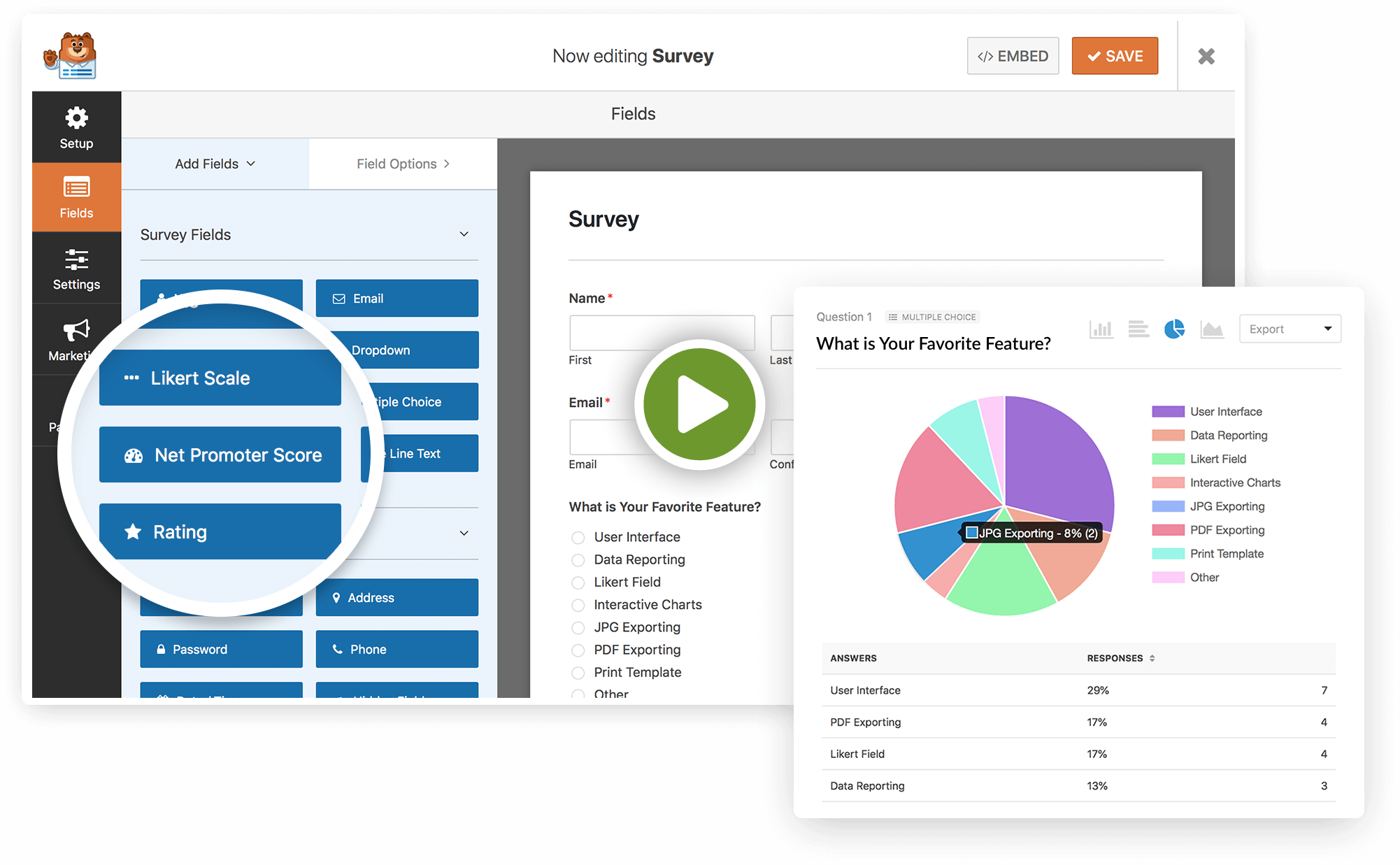 Create Surveys And Polls On Your WordPress Website