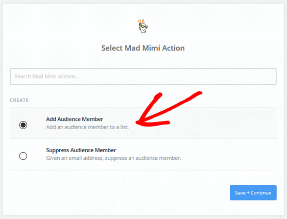 Create a Mad Mimi Subscribe Form - Mad Mimi Action