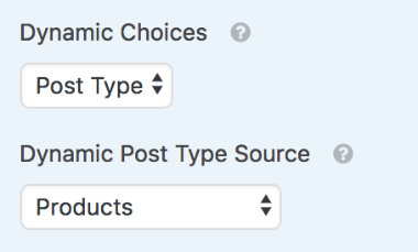 Dynamic post type source