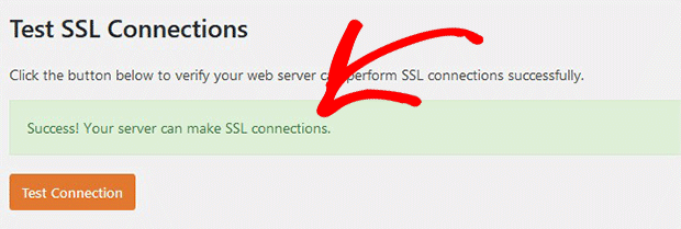 Successfully Connect to SSL