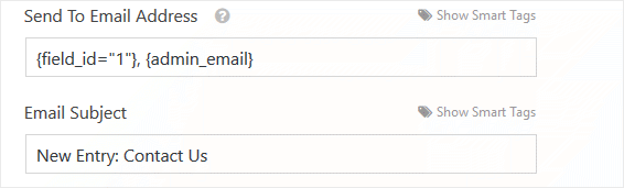 Email Subject Default
