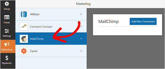 MailChimp Settings