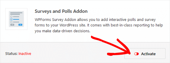 Surveys and Polls Addon