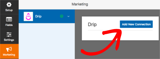 Add new connection to Drip