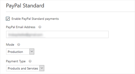 PayPal Configuration