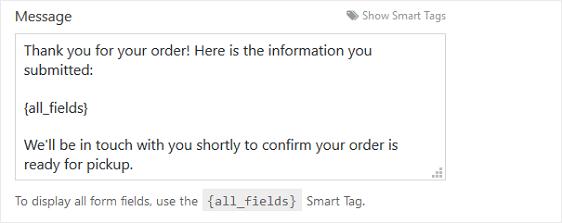 online ordering system sample