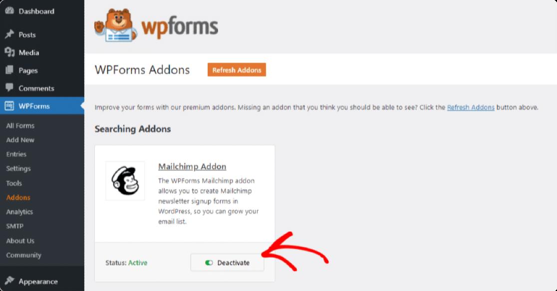 WPForms-Mailchimp-Addon