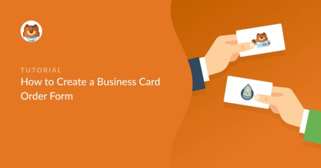 business-card-order-form