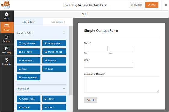 How to Create an Appointment Booking Form in WordPress (With