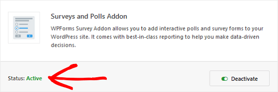 WPForms Surveys & Polls Addon