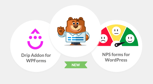 Drip Forms and NPS for WPForms