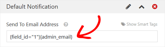 Form Notifications with 2 Emails