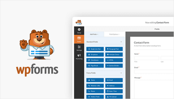 WPForms WordPress Contact Plugin