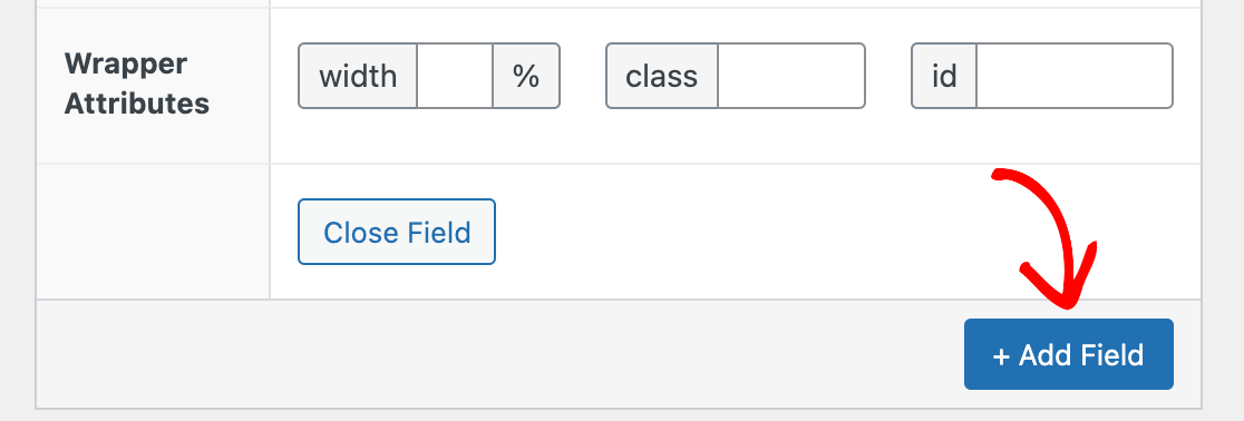 Adding another new custom field