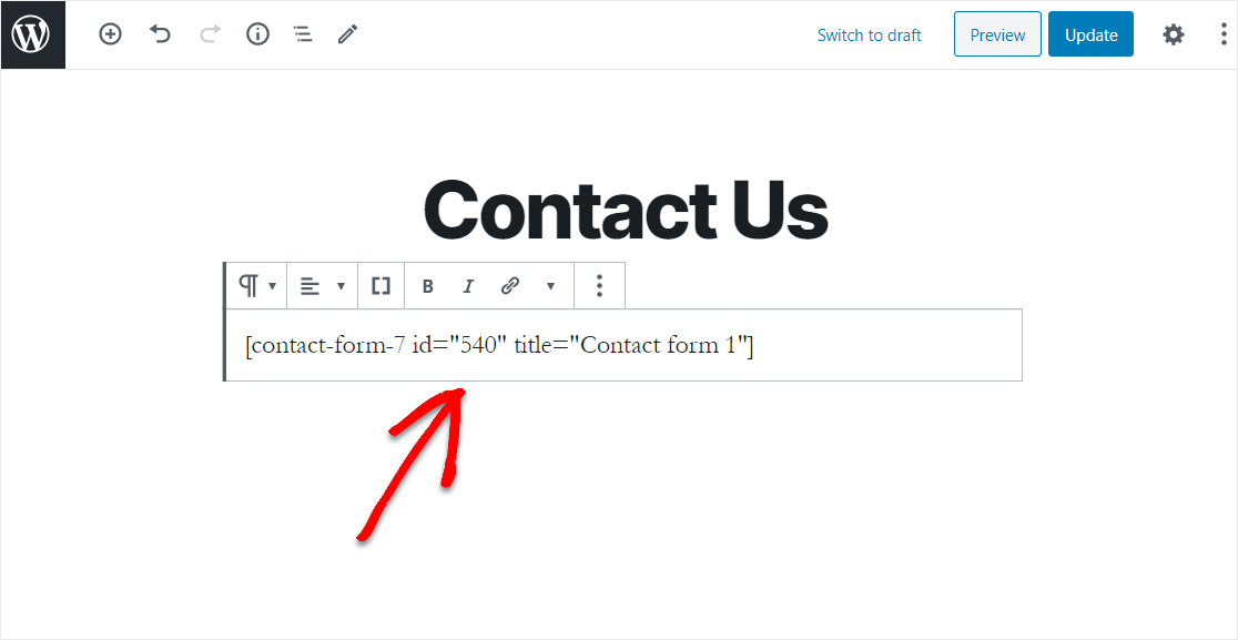how to delete contact form 7 code for export