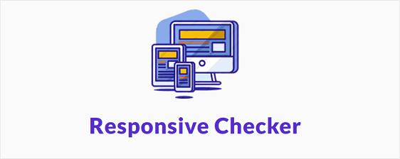 responsive checker