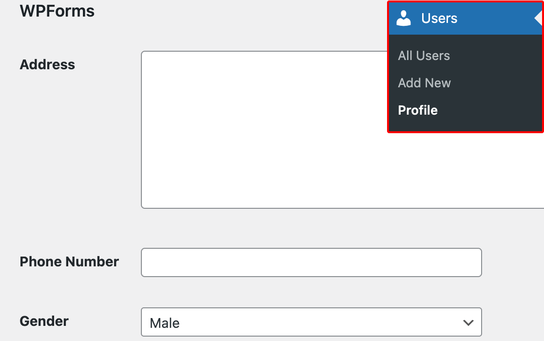Viewing custom user meta fields on the WordPress user profile screen