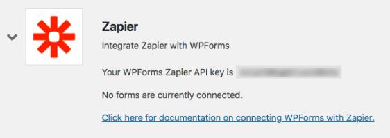 Zapier integration details