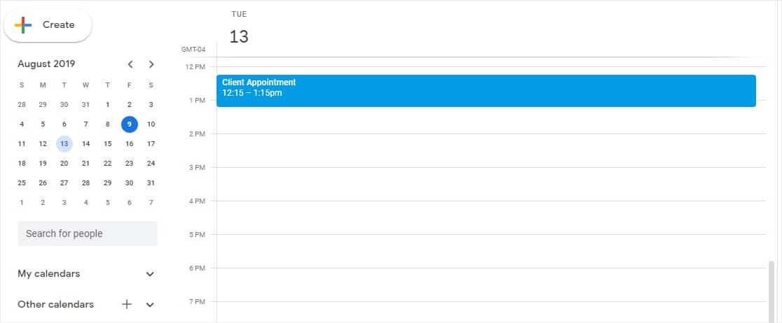 wordpress appointments plugin integrates with google calendar