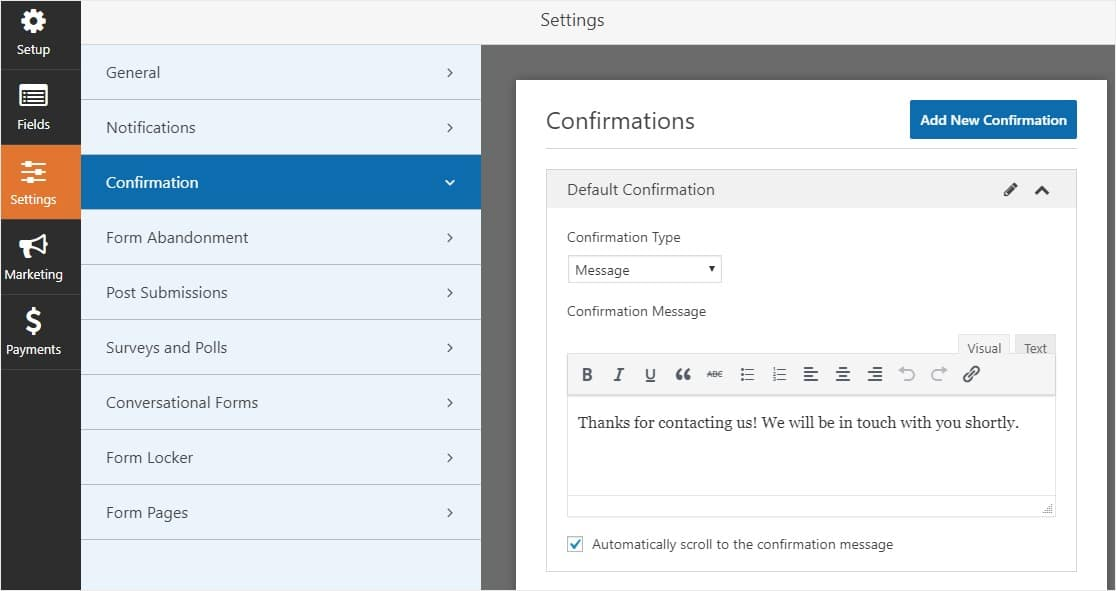 date and time form builder in wordpress appointment plugin