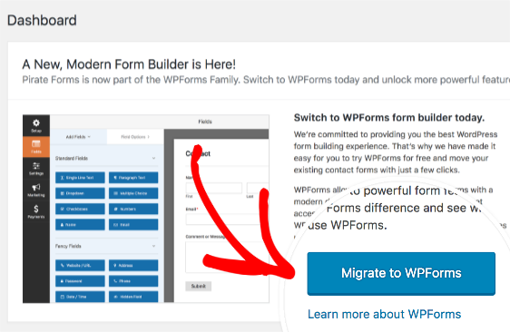 How to Move from Pirate Forms to WPForms
