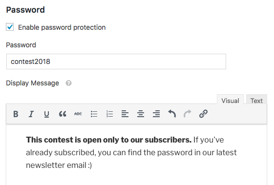 Setup password protect for form in WPForms Form Locker addon
