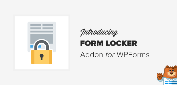 Form Locker for WPForms