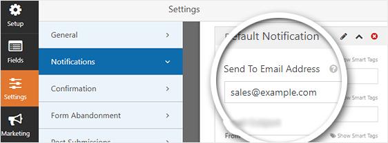 sales team email