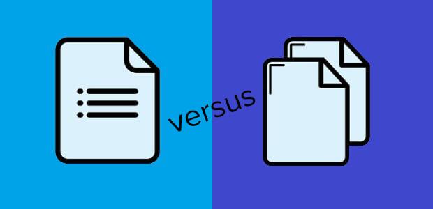 single vs. multi-step wordpress forms