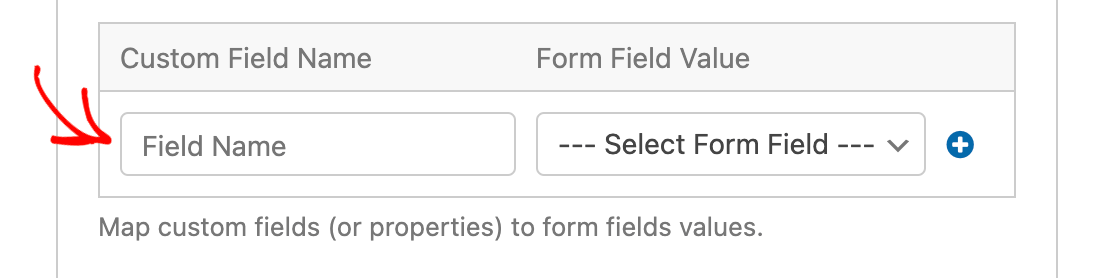 Adding the custom field identifier for a custom field in Drip