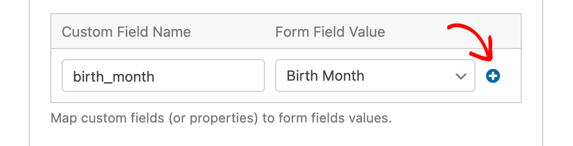 Adding another Drip custom field mapping in WPForms